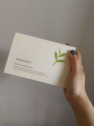 New!! Innisfree green tea special kit