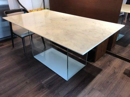 WTS Italian Marble Top Dining Table
