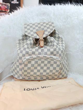 Louis Vuitton Bag (ransel dan serut)