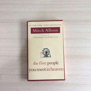 Five People You Meet in Heaven by Mitch Albom Novel Import