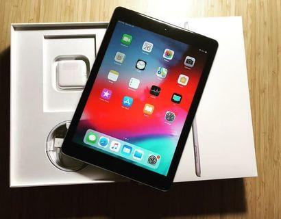 Kredit iPad 6 2018 Tablet [9.7 Inch/ WiFi + Cellular 128GB]