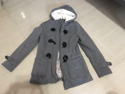 COTTON OUTERWEAR WITH HOODIE