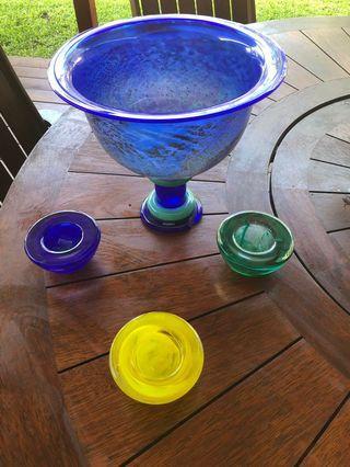 Kostas Boda Decaration bowls