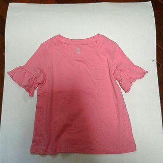 Pink Ruffle T-Shirt
