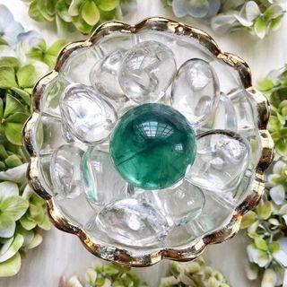 Rainbow Fluorite Crystal Sphere #2