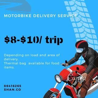Motorbike delivery