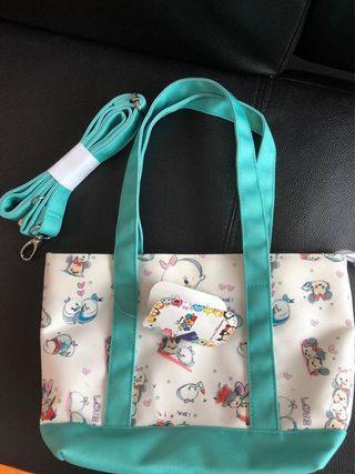 Disney Tsum Tsum 手挽/斜揹袋(全新)原價$288