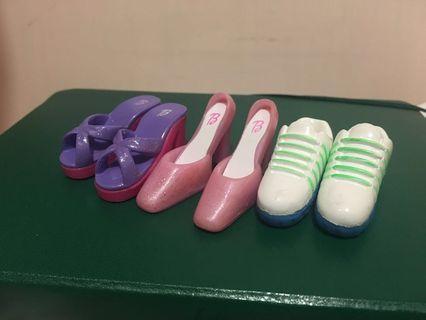 芭比公仔 Barbie 鞋 擺設 印仔 Figure Shoes 兵人鞋