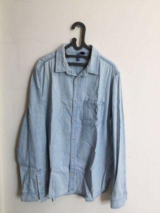 Kemeja jeans H&M divided