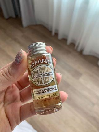loccitane amande supple skin oil 15ml