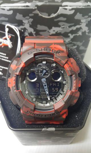 Casio G-Shock Camo Red (NOS)