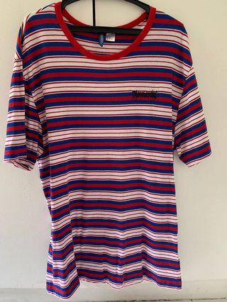 H&M Divided Striped Tee