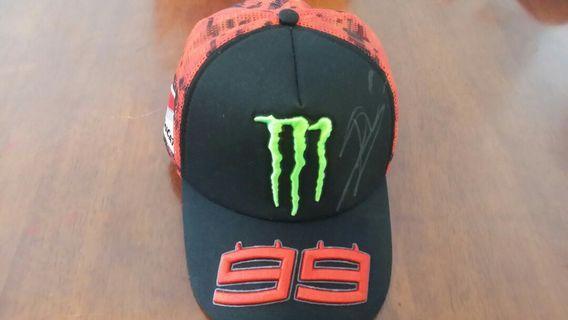 Ducati Moto GP Rider Cap with original signature