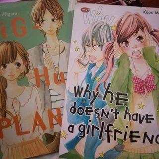 Komik Jepang Manga Dapat 2 Buah (Preloved)