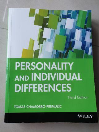 🚚 Personality and Individual Differences 3rd ed.