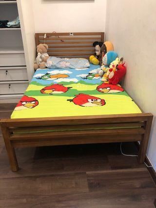 WTS Super Single Bed Frame from Scanteak