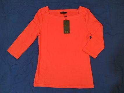 SEED Women Cotton Officewear Red