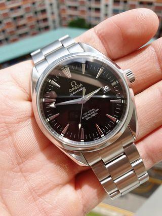 *Classic Beauty* 39mm Omega Seamaster Aqua Terra 150m Ref. 2503.50.00