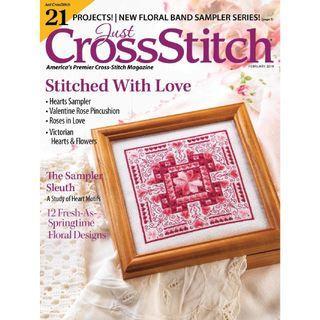 Just Cross Stitch 2019年1~6月 十字繡雜誌高清電子書 HD pdf