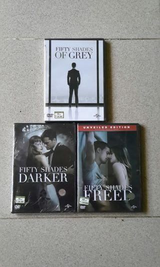 Dvd Fifty Shades Trilogy.