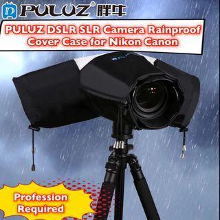 🚚 Professional PULUZ DSLR SLR Camera Rainproof Cover Case Lightweight Dust-proof