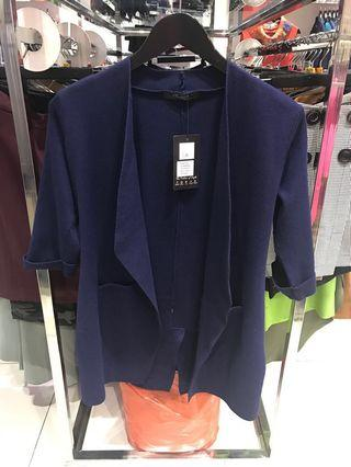 Szan Thick blue cardigan
