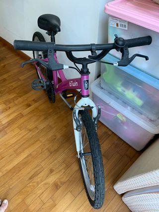"Decathlon 20"" girls bicycle"