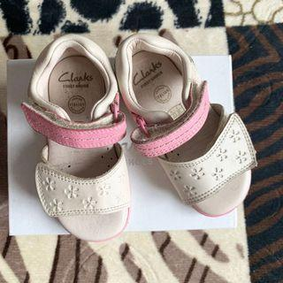 Original Clarks First Shoes for girl (preloved)