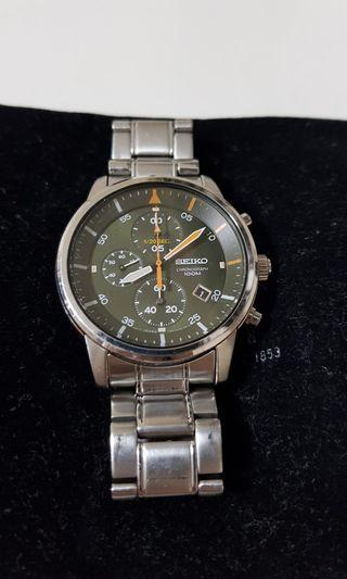 🚚 Seiko chronograph watch