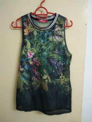 Sleeveless Top Free size