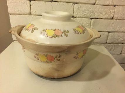 "Clay Pot 3L diameter 9"" height 5"""