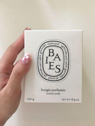 Diptyque BAIES Scented Candle  槳果香 香氛蠟燭 190g