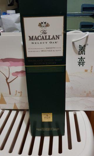 🚚 Macallan select oak 1 ltr