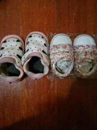 🚚 嬰兒學步鞋2雙