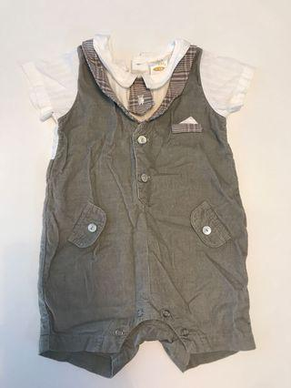 Trudy and Teddy Romper