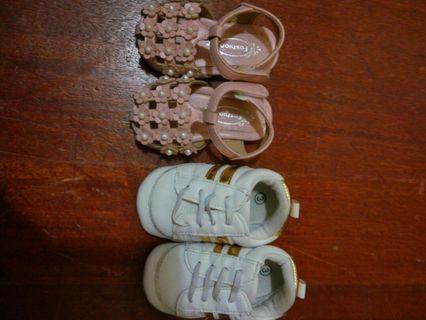 🚚 內長11cm嬰兒鞋2雙