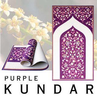 🌟Ready Stock!: Sejadah Orthopedik- Purple Kundar