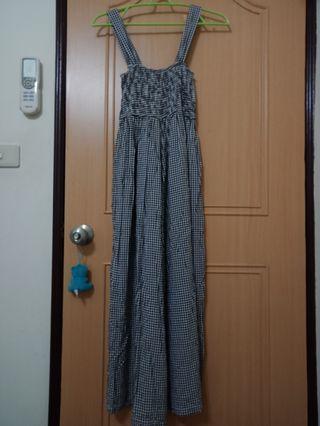 Queenshop 輕巧吊帶褲裙