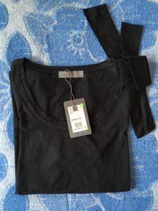 SEED Women Cotton Top (Black)