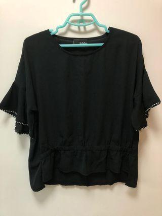 全新 黑色襯衫