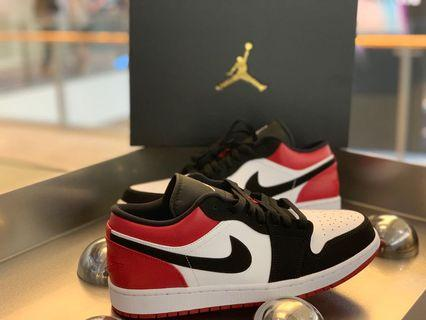 🚚 Airjordan 1 Low Black Toe