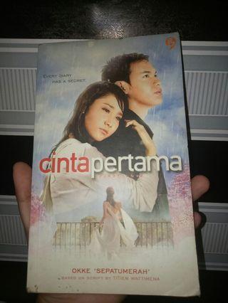 Novel Cinta Pertama