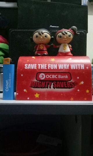 Tabung Coins Bank OCBC Bank