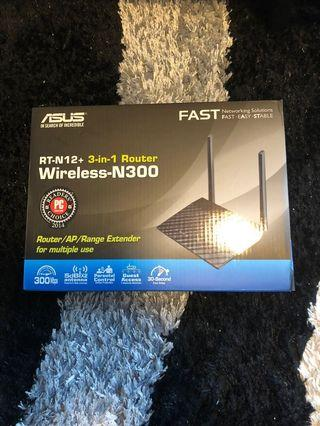 ASUS 3 in 1 Router Wireless N300