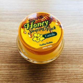 [極潤睡眠面膜] Holika Holika 蜜糖睡眠面膜 芥花籽 Honey Sleeping Pack (Canola) 90ml