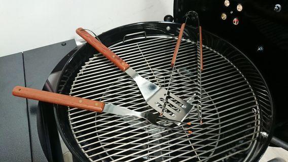 3 Pieces Premium BBQ tool set