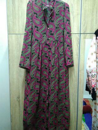 Long dress cardigan cantik