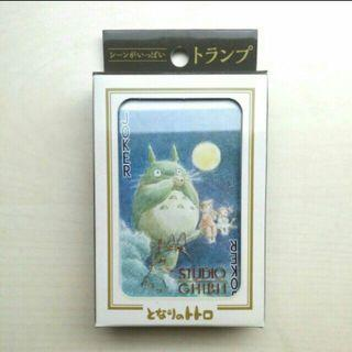 [LARGE SALE] Official Studio Ghibli My Neighbour Totoro Poker Playing Cards, High Quality Card Collection