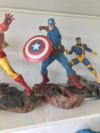 Sideshow Avengers Assemble - Captain America 1:5 statue