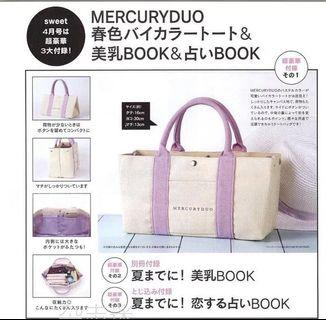 日本雜誌袋 mercury duo gin a non no magazine bag lunch 飯盒袋
